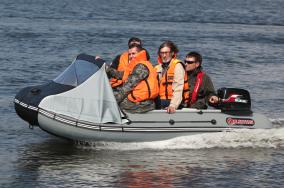 Моторно-гребная лодка AV-340S