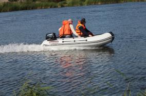 Лодка моторно-гребная AV-320
