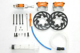 Front hydraulic brake system