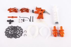 Front hydraulic brake system (Type 3)