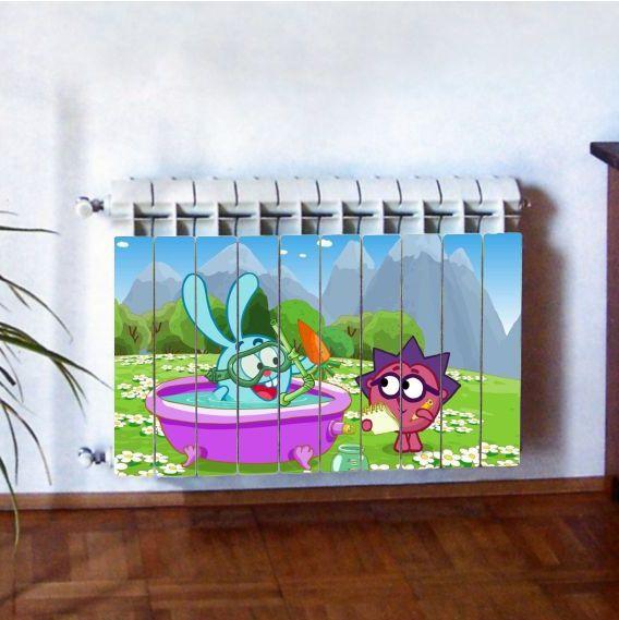 """Фотодекор для радиатора отопления """"Дети 0012"""""""