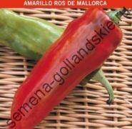"""Перец сладкий """"ЖЁЛТЫЙ РОС МАЙОРКИ"""" (Amarillo Ros de Mallorca) 10 семян"""