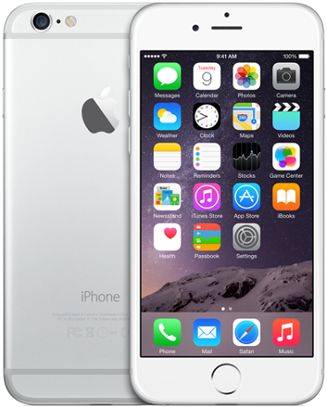 Apple iPhone 6 64GB LTE Silver
