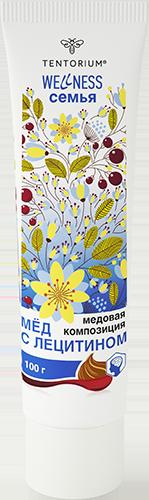 Мёд с лецитином (100 г)
