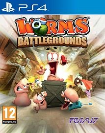 Игра Worms Battlegrounds (PS4)