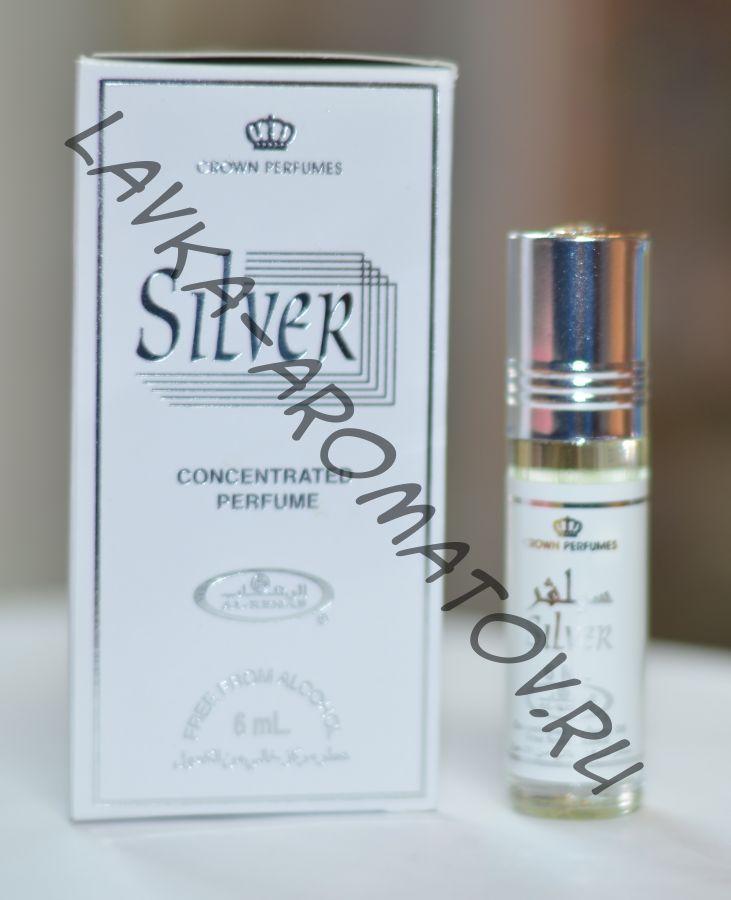 Миск Silver Al Rehab 6 мл  (Упаковка 6 шт 95 руб/шт)