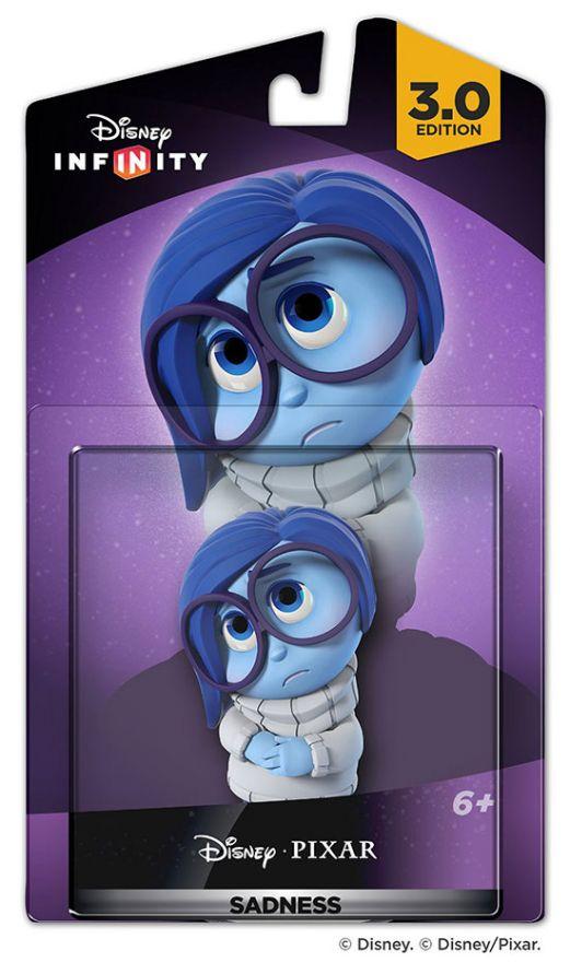 Фигурка Disney Infinity 3.0 Персонаж Sadness (Печаль)