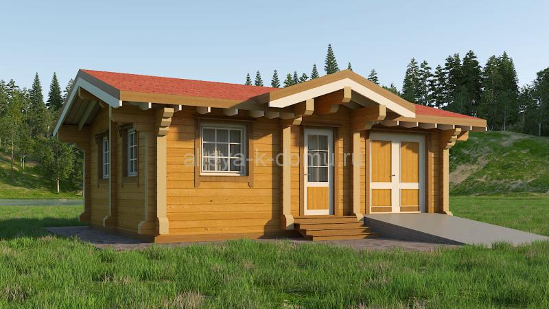 Гостевой домик 48 м²