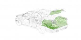 Шумоизоляция Багажника —комплект материалов
