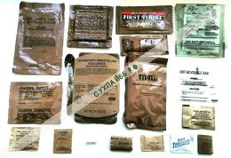 ИРП армии США - MRE (Meal Ready to Eat) (содержимое)