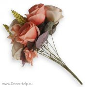 Розы искусственные цветы для свадебного декора