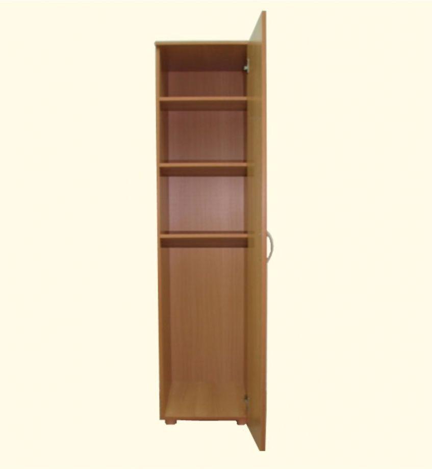 Шкаф-пенал закрытый 1 дверный с полками