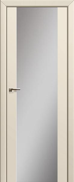 Межкомнатная дверь Профильдорс 8U Магнолия сатинат, зеркальный триплекс
