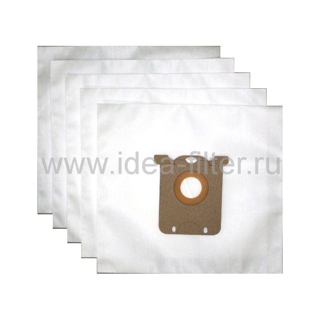 IDEA PH-02 мешки для пылесоса PHILIPS S-Bag - 5 шт синтетические одноразовые