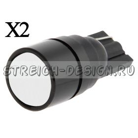 Светодиодная лампа T10 COB линза белая 12V