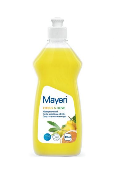 Средство для мытья посуды Mayeri Citrus and Olive 450 мл