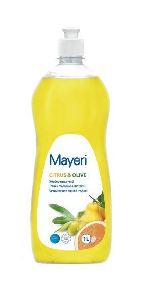 Средство для мытья посуды Mayeri Citrus and Olive 1.0 л