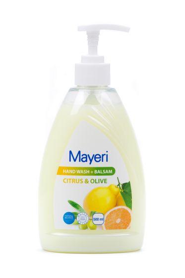 Жидкое мыло с экстрактом цитруса и оливок 500 мл