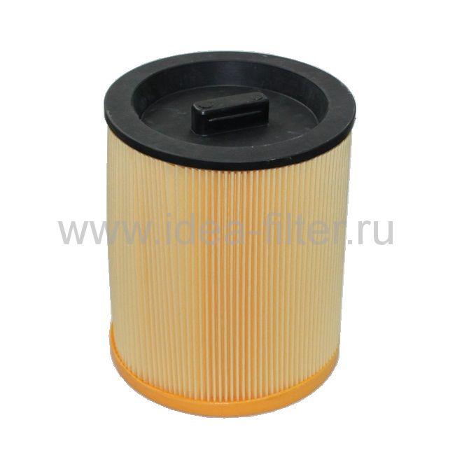 ROCK professional HMF-1200 - патронный HEPA фильтр складчатый малый для пылесоса KRESS 1200 NTX