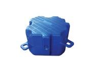 Понтон пластиковый одинарный 50x50x40 (кубик)