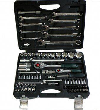 FORCE Набор инструментов 82 предмета № 4821-5 6-ти гран.