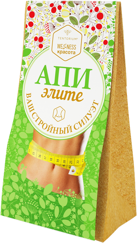"""Зелёный чай с растительными экстрактами """"АпиЭлите"""", 100 г"""