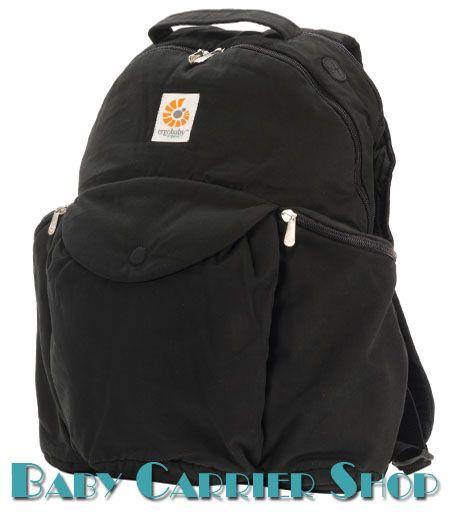 Сумка-рюкзак для вещей ERGO BABY «TRAVEL BACKPACK ORGANIC Black» [Эрго Беби DPO001NL черный]