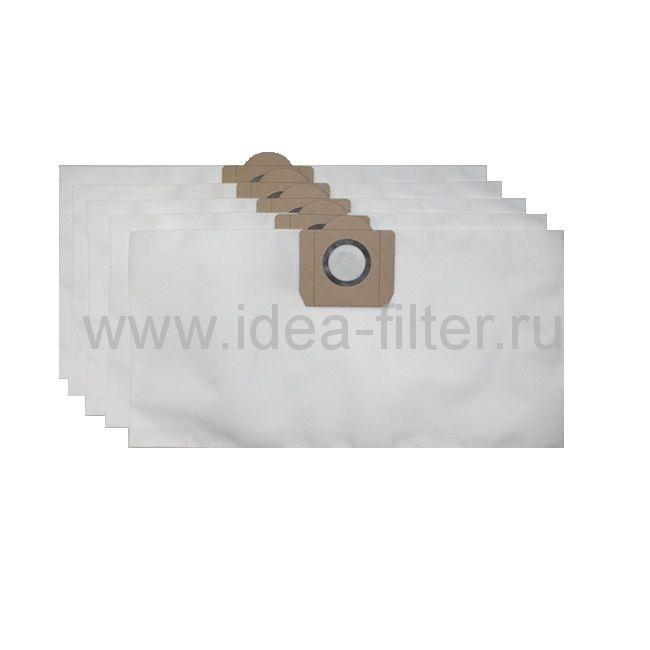 IDEA C-01 мешки для пылесоса DELVIR 1/17 - 5 штук синтетические (20 L)