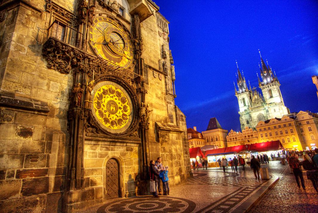 Будапешт – Вена – Прага