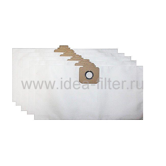 IDEA CM-01 мешки для пылесоса Cleanfix S12, Columbus - 5 штук синттиеские
