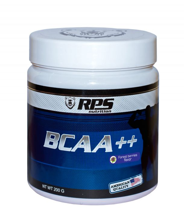 RPS BCAA++ 8:1:1 200 гр. банка - лимон лайм скл2