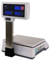 Весы торговые системные CAS ER-JR-CBU со стойкой