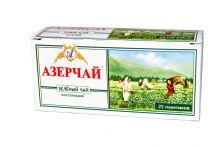 Азерчай зеленый 25 пакетиков Азербайджан