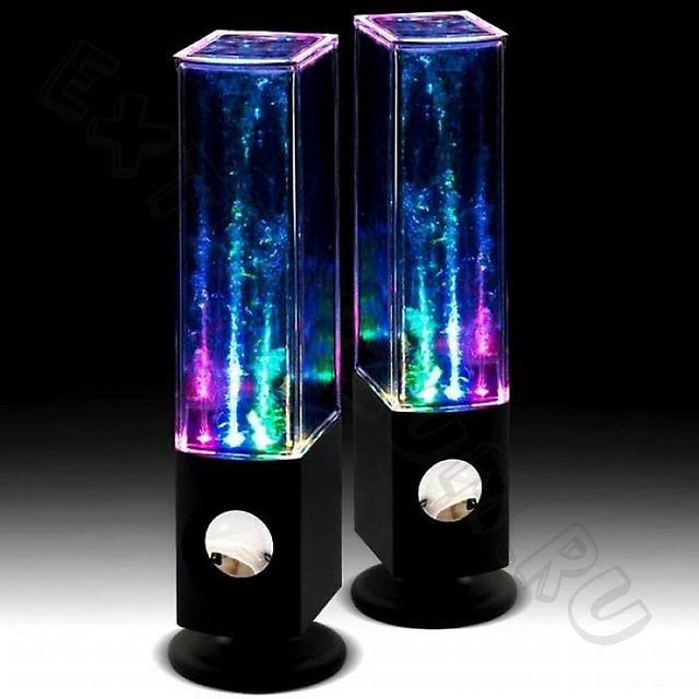 Колонки Water Speakers  LED