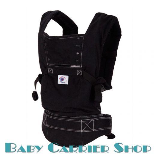 Слинг-рюкзак ERGO BABY CARRIER Эргорюкзак для переноски малышей «Black Sport» [Эрго Беби BC6SP слингорюкзак Черный]