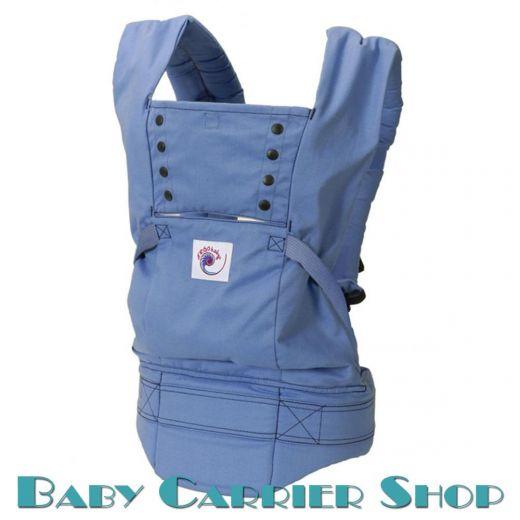 Слинг-рюкзак ERGO BABY CARRIER Эргорюкзак для переноски малышей «Blue Sport» [Эрго Беби BC15SPH слингорюкзак Голубой]