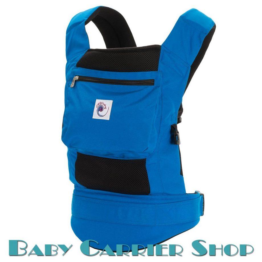Слинг-рюкзак ERGO BABY CARRIER Эргорюкзак для переноски малышей «True Blue Performance» [Эрго Беби BCP42200 слингорюкзак Синий]