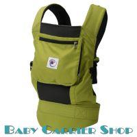 Слинг-рюкзак ERGO BABY CARRIER Эргорюкзак для переноски малышей «Spring Green Performance» [Эрго Беби BCP32300 слингорюкзак Салатовый]