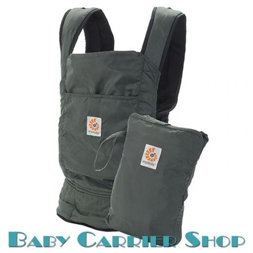 Слинг-рюкзак ERGO BABY CARRIER Эргорюкзак для переноски малышей «Stowaway Olive Travel» [Эрго Беби BC346001NL слингорюкзак Оливковый]