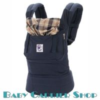 ERGO Baby CARRIER ORGANIC COLLECTION Highland Navy Plaid BCO417NP