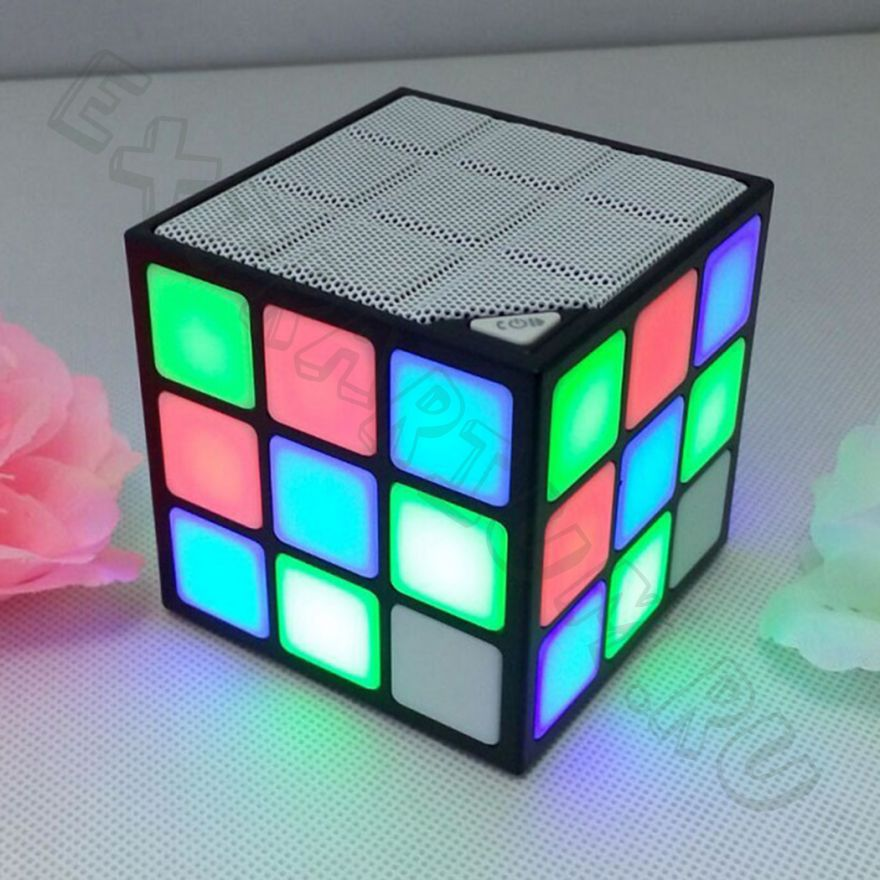 Колонка Magik Cube Led