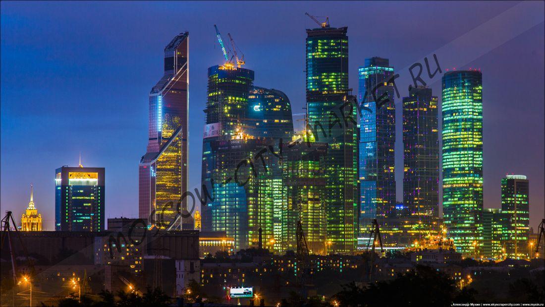 """Экскурсия """"Москва-Сити: взгляд изнутри"""""""