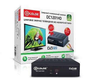 Цифровой ТВ приемник DC1201HD