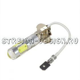 Светодиодная лампа H3 COB 7W белая 12V