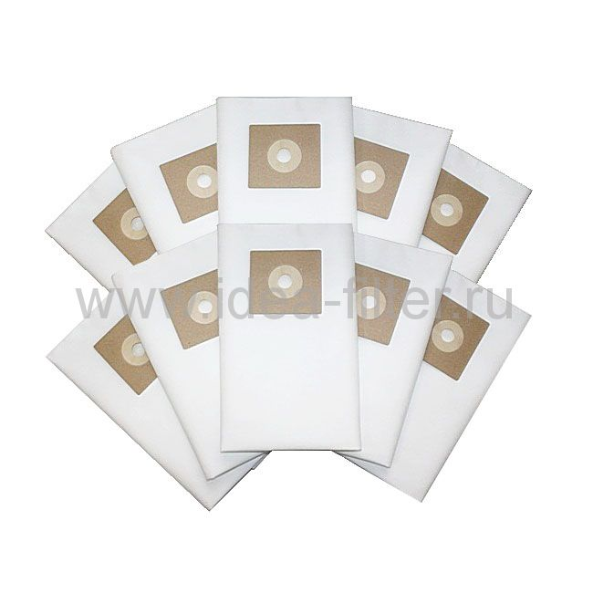 IDEA NU-02 - мешок  для пылесоса NUMATIC - 10 штук синтетические одноразовые