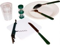 Пикниковый набор Арктика 4300-4 - столовые приборы