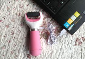 Электрическая роликовая пилка для стоп с экстражестким роликом USB