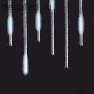 Светодиодная сосулька 0,8 метра, влагозащищенная, белая