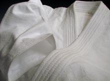 Куртка (уваги) для айкидо из Японии (IWATA) модель - MIYABI #100KS