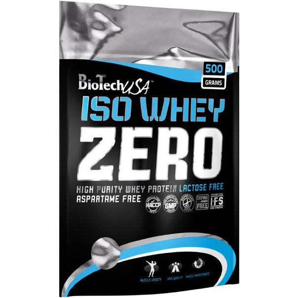 Iso Whey ZERO, 500 гр, BioTech